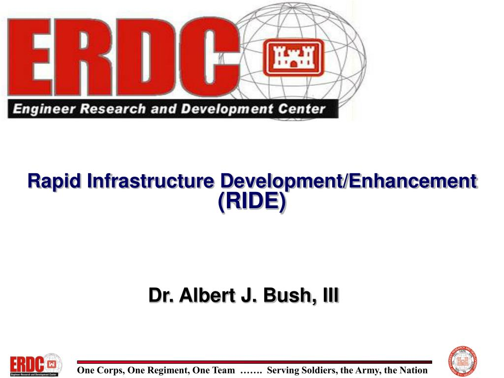 rapid infrastructure development enhancement ride l.