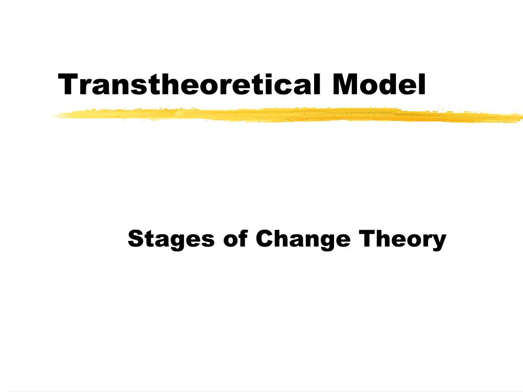 transtheoretical model l.