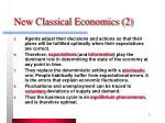 new classical economics 2