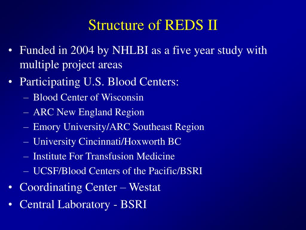 Structure of REDS II