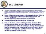 ex 2 analysis
