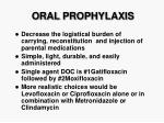 oral prophylaxis