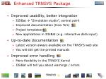 enhanced trnsys package