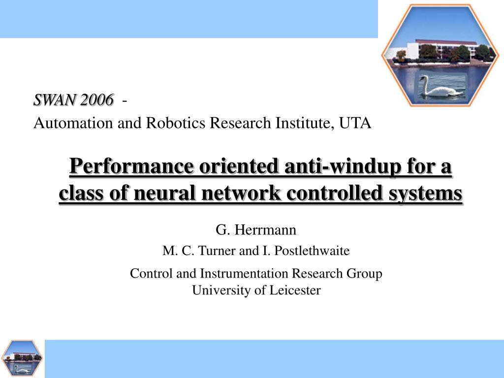 Performance oriented anti-windup for a class of neural network controlled systems