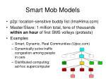 smart mob models