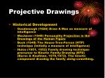 projective drawings