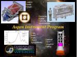 aspen instrument program