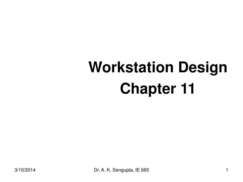 workstation design chapter 11 l.