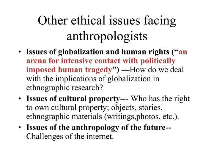 Mandating agency definition in anthropology