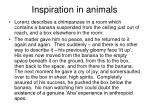 inspiration in animals