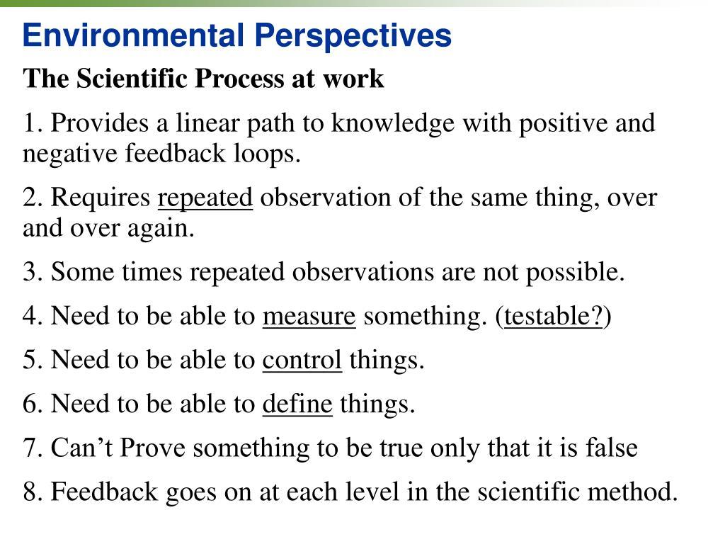 Environmental Perspectives