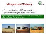 nitrogen use efficiency