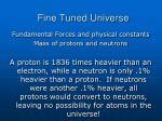 fine tuned universe31