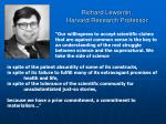 richard lewontin harvard research professor