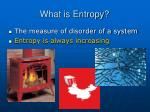 what is entropy35