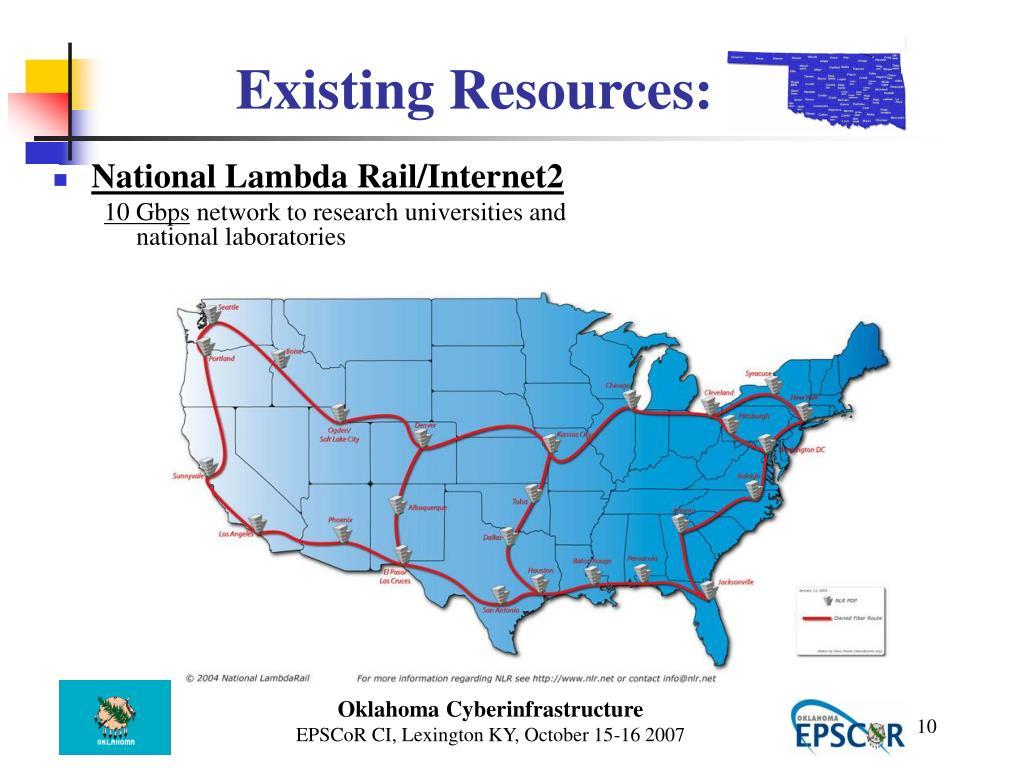 National Lambda Rail/Internet2