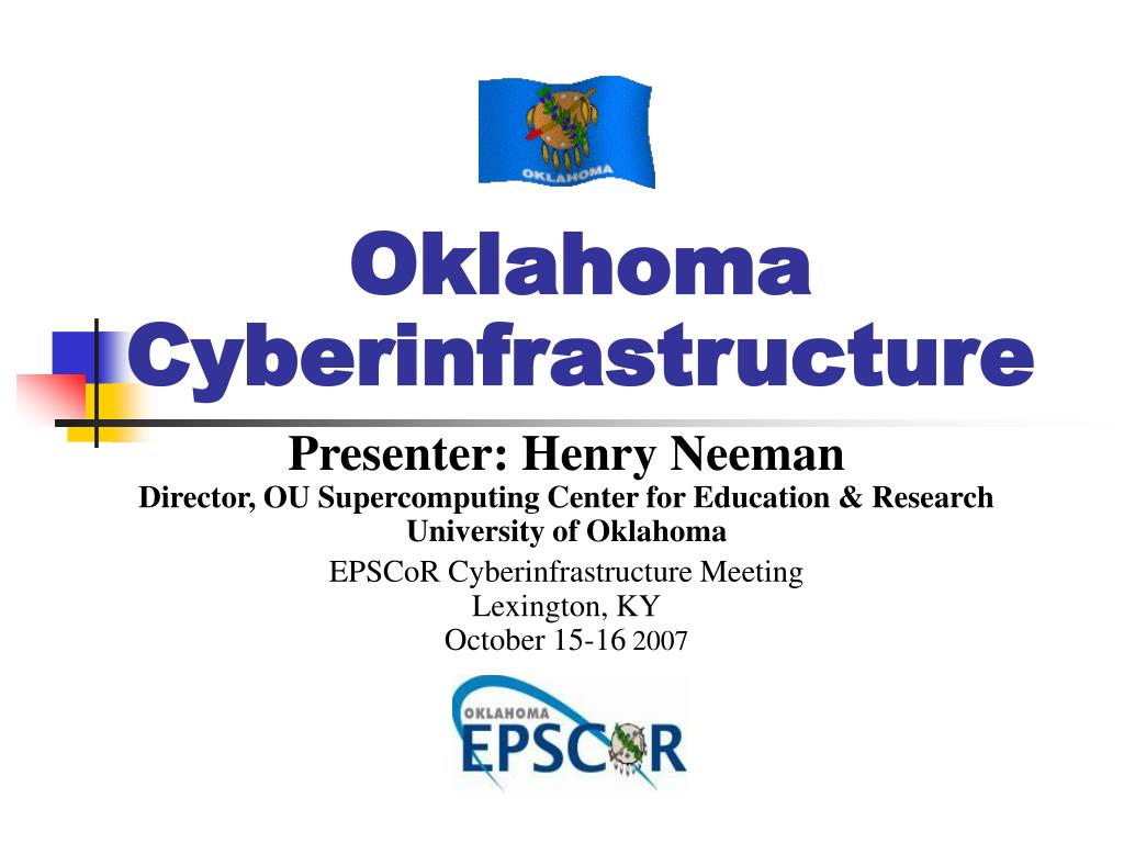 Oklahoma Cyberinfrastructure