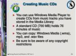 creating music cds
