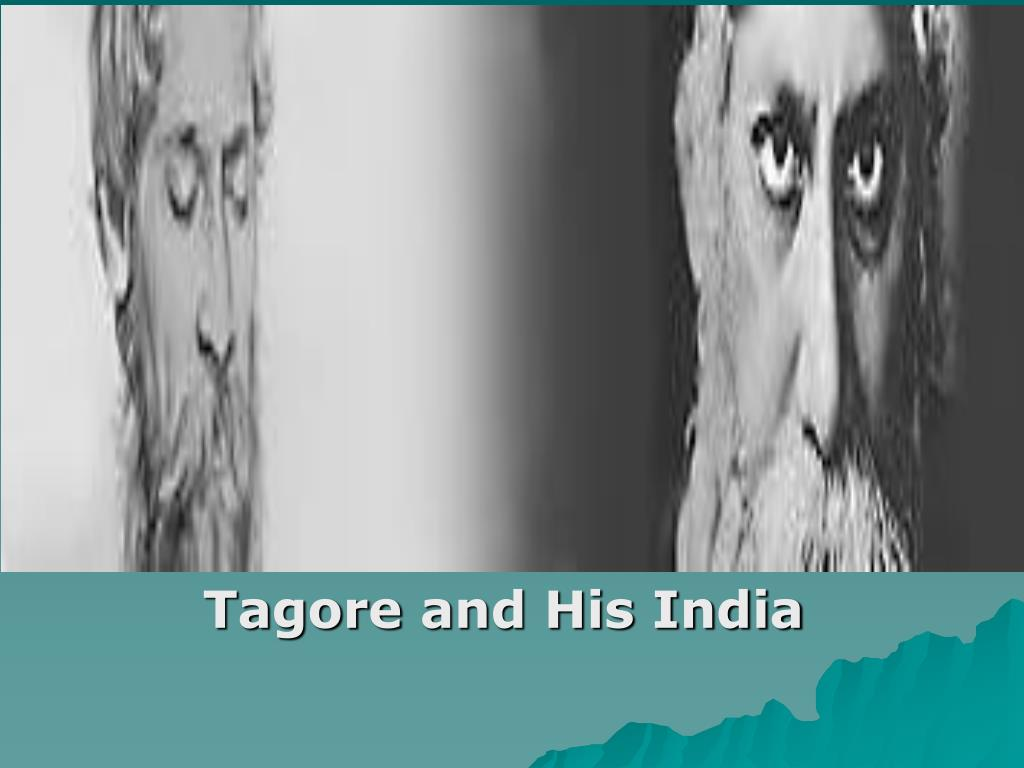 tagore and his india l.