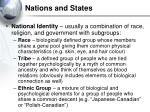 nations and states14