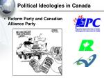political ideologies in canada45