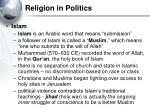 religion in politics29