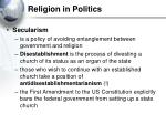 religion in politics33