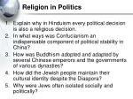 religion in politics37