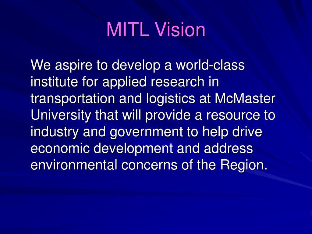 MITL Vision