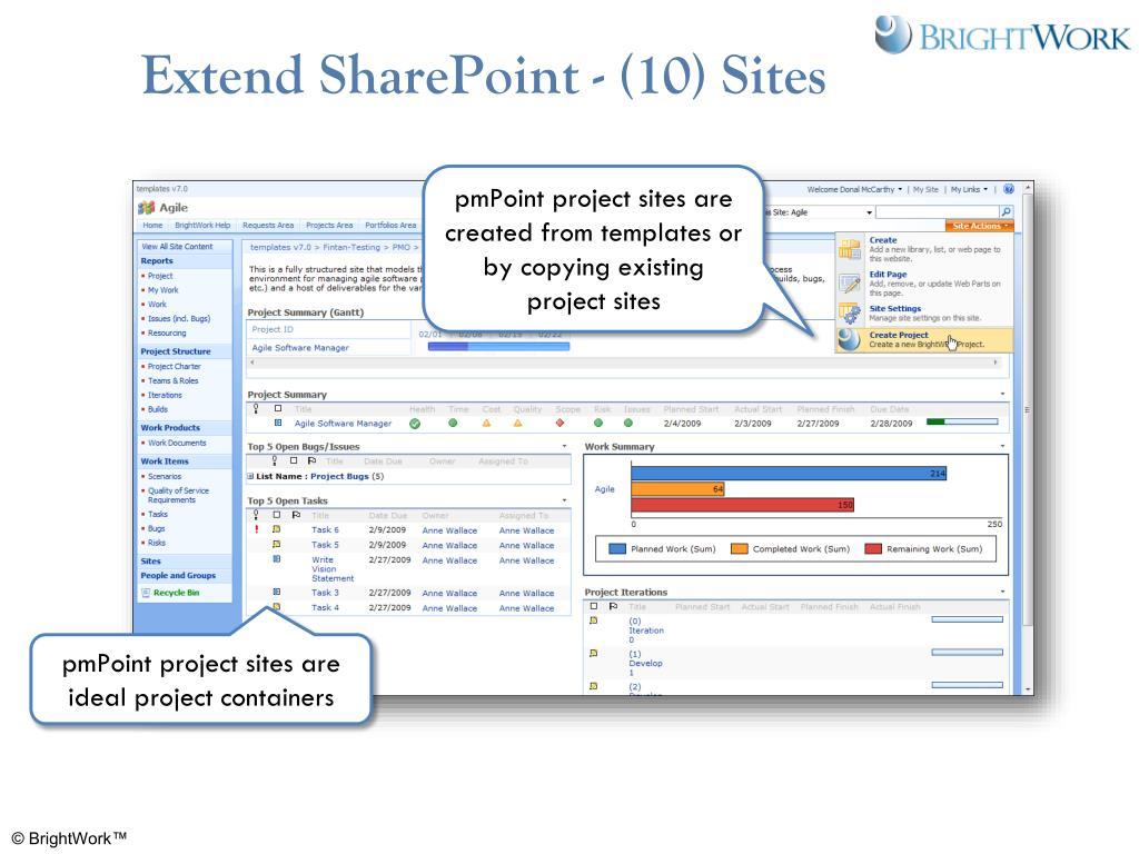 Extend SharePoint - (10) Sites