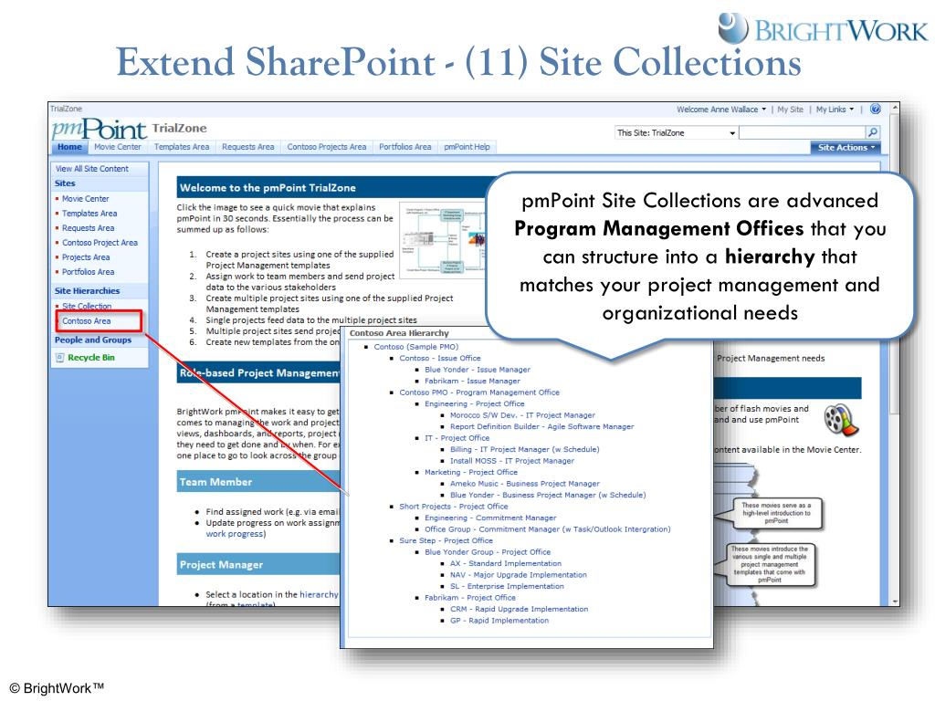 Extend SharePoint - (11) Site Collections