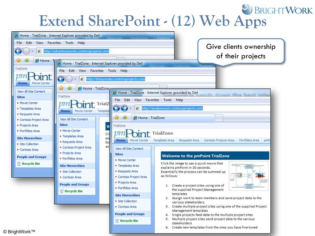 Extend SharePoint - (12) Web Apps
