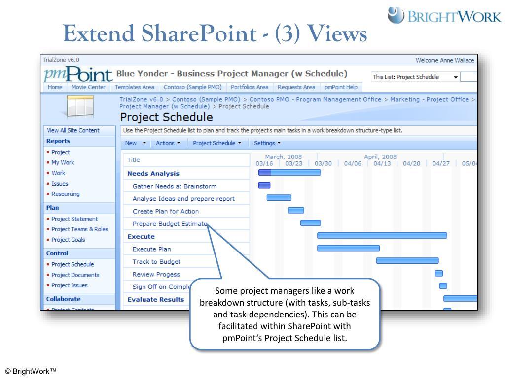 Extend SharePoint - (3) Views