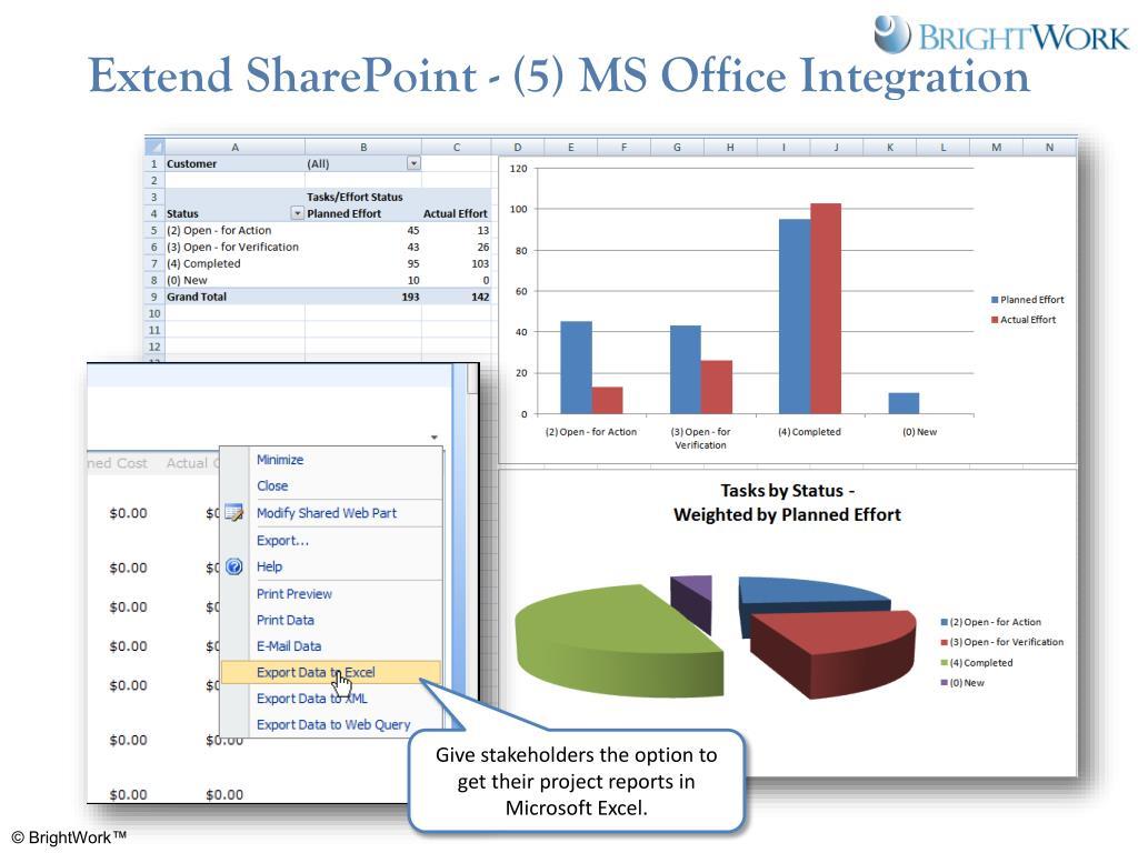 Extend SharePoint - (5) MS Office Integration