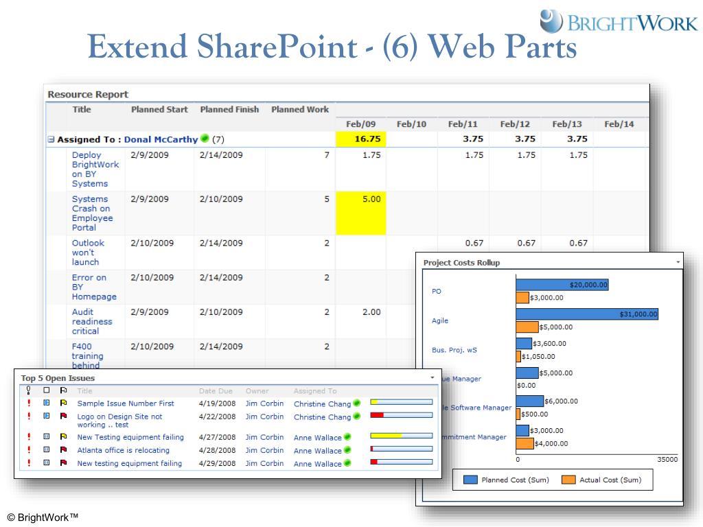 Extend SharePoint - (6) Web Parts