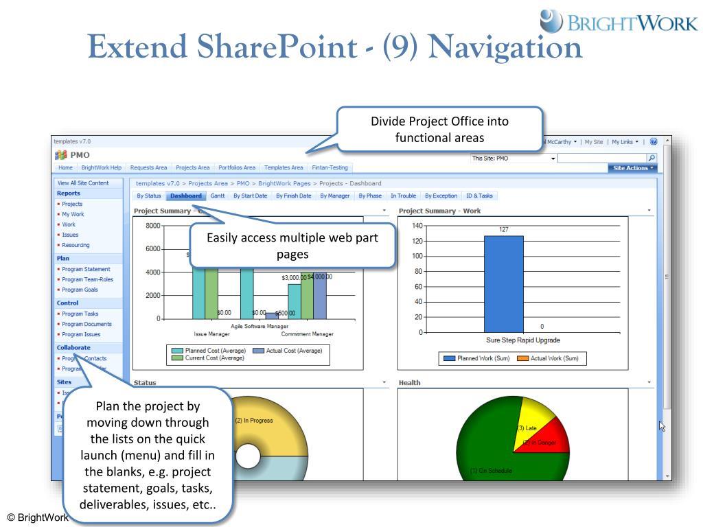 Extend SharePoint - (9) Navigation