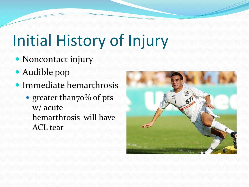 Initial History of Injury