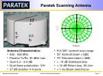 paratek scanning antenna