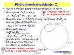 photochemical oxidants o 3