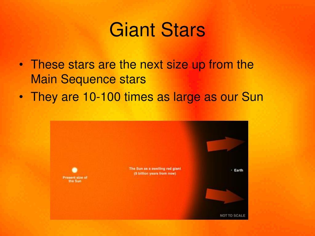 Giant Stars
