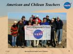 american and chilean teachers