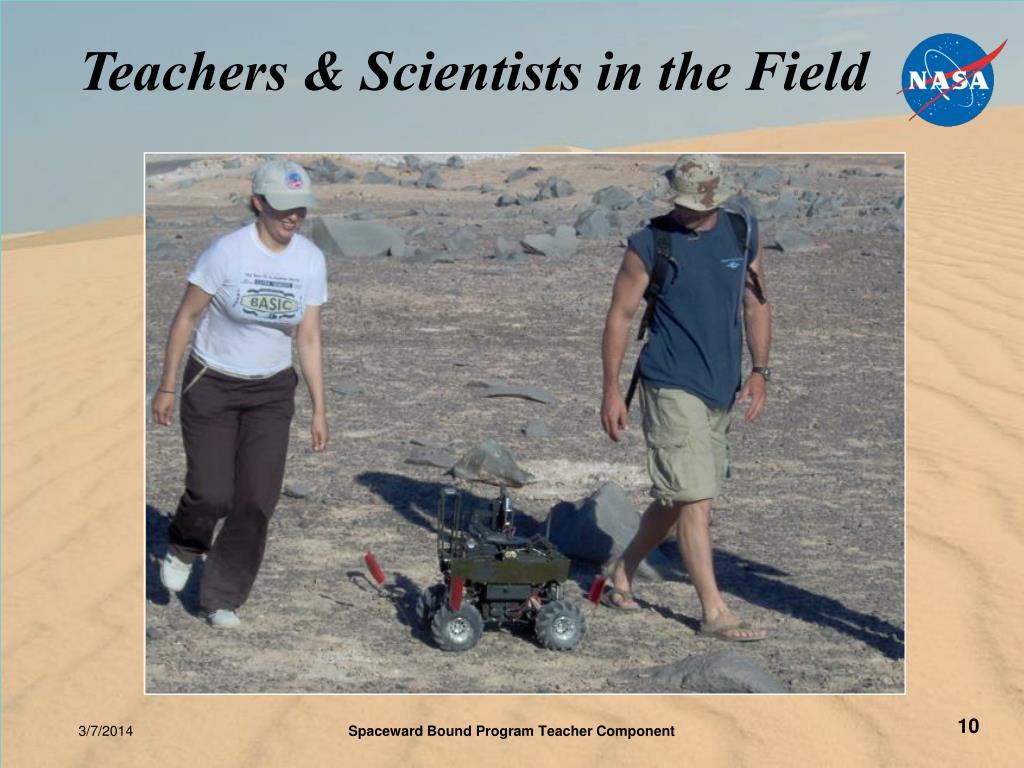 Teachers & Scientists in the Field