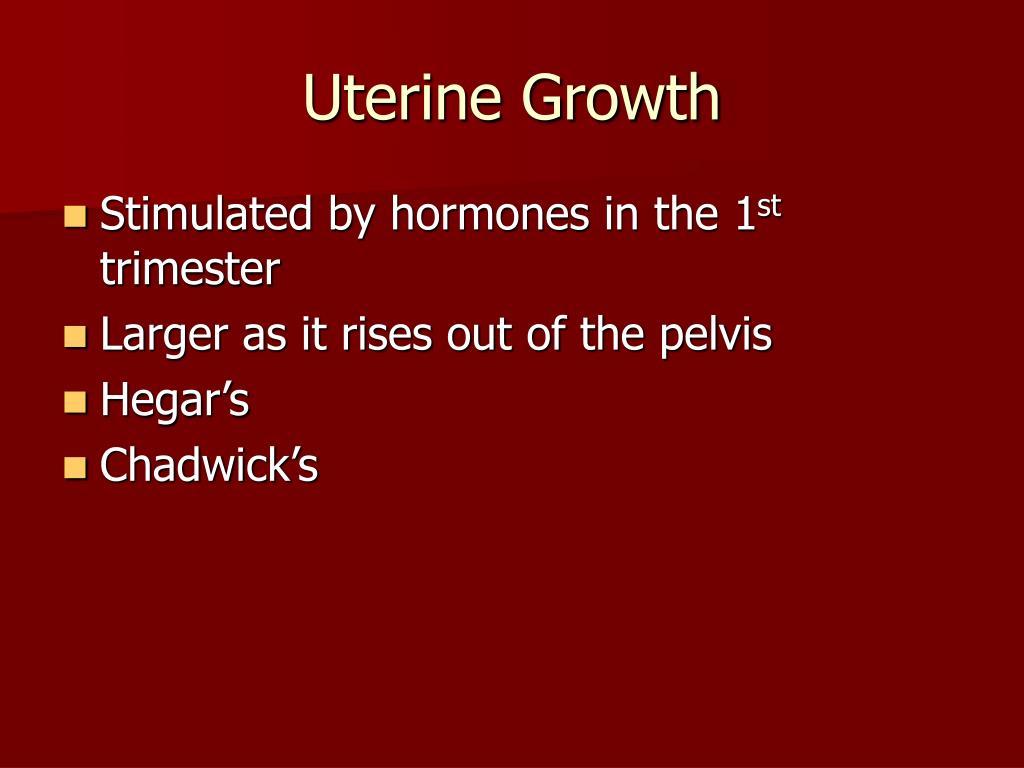 Uterine Growth