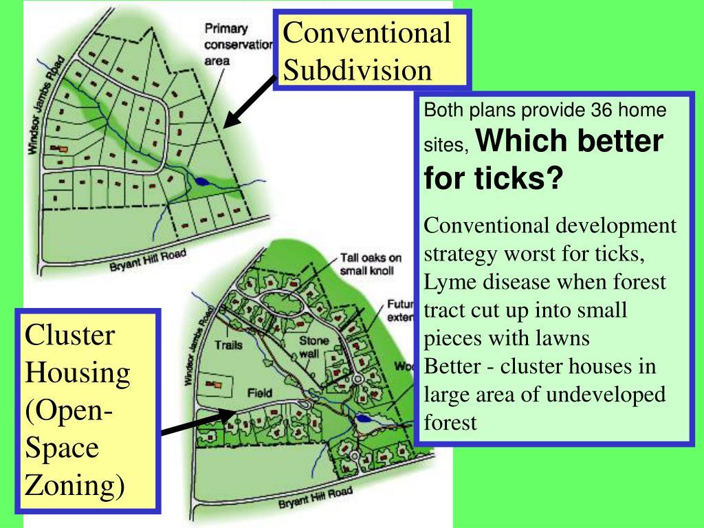 Conventional Subdivision
