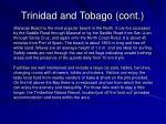 trinidad and tobago cont14