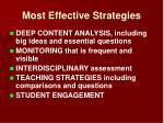 most effective strategies15