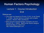 human factors psychology26