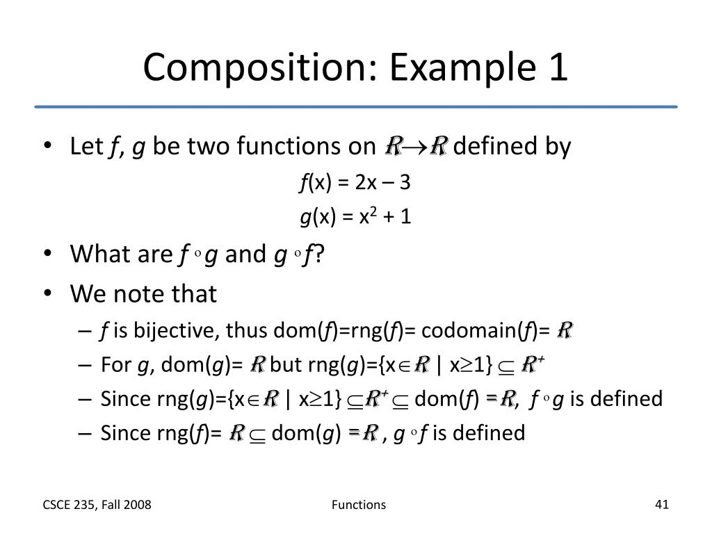 Composition: Example 1