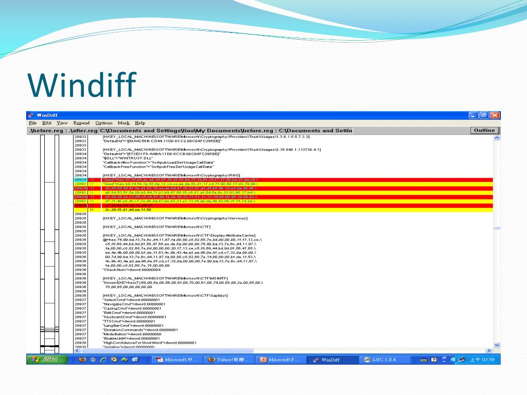 PPT - Microsoft Windows Internals, 4 ed PowerPoint