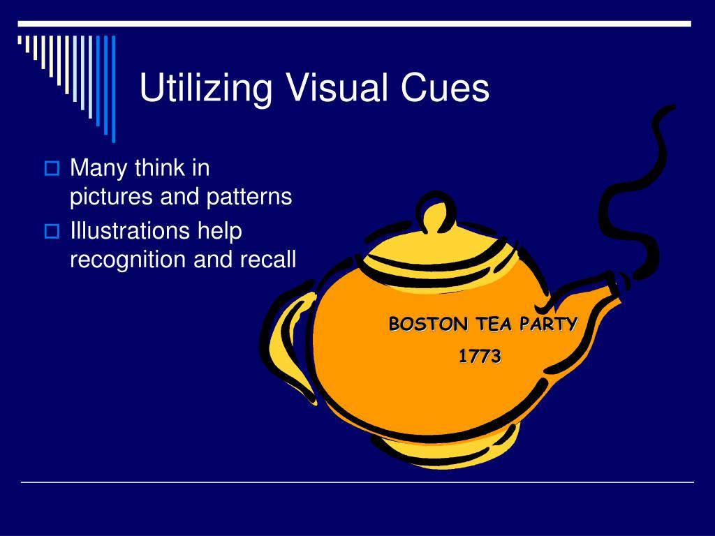 Utilizing Visual Cues